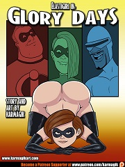 The Incredibles- Elastigirl in Glory Days- [Karmagik]